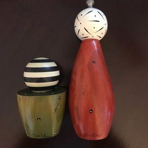 Robert Wilhelm salt/pepper set